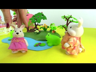 Развивающие мультики Зайчата и Лягушата! Лягушки в пруду. Про животных для детей. Сказка Лягушка