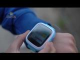 Как работают детские часы телефон с GPS трекером Q80.