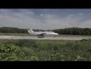Красивые кадры полета на реактивном самолете