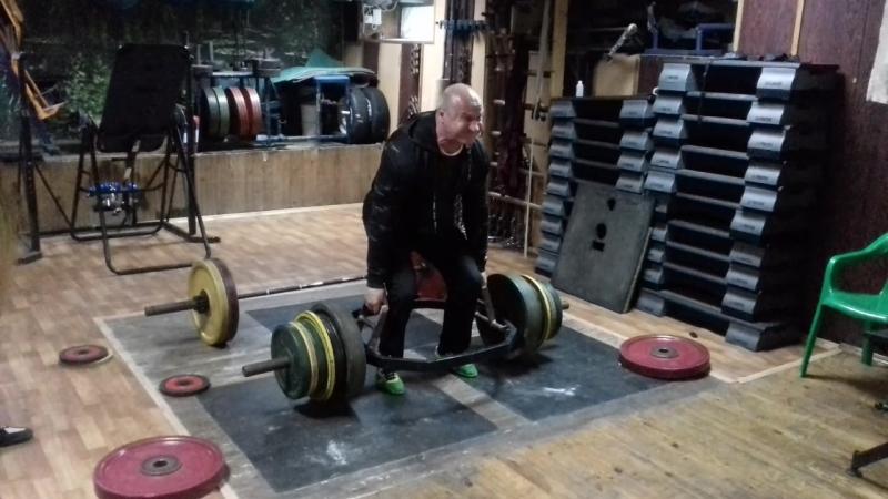 300 кг без разминки и пояса Стуков Виталий Викторович