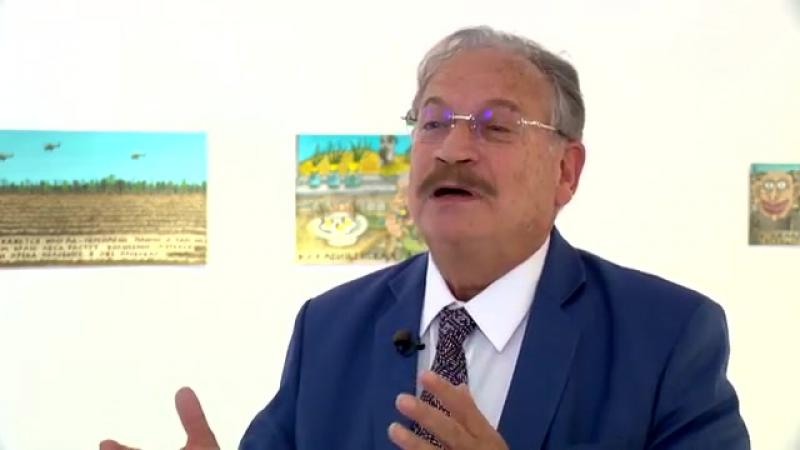 Французское телевидение о выставке Евгения Бутенко в Монако