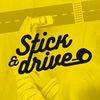 Игровая липкая лента-дорога Stick & Drive