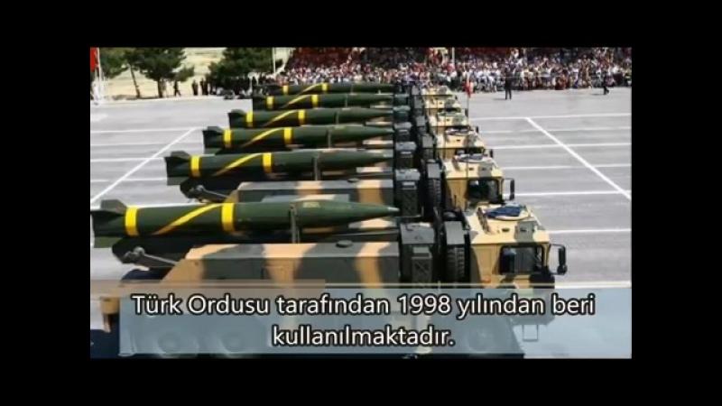 Тактическая ракета J-600T Yıldırım (Молния)