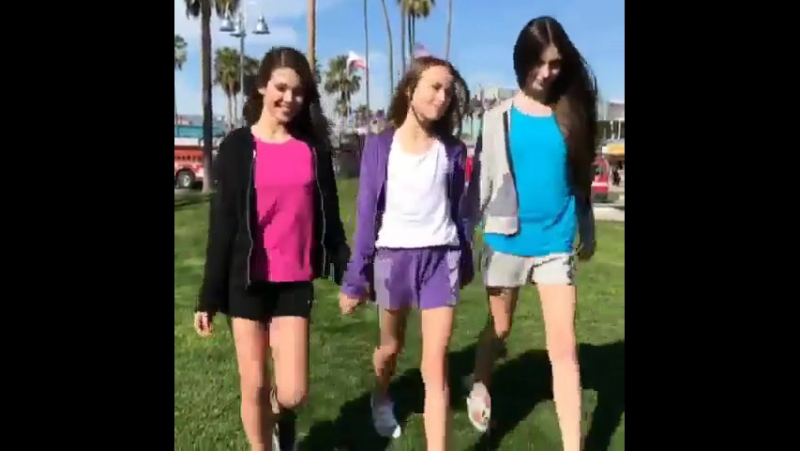 Kristina Pimenova Laneya and Lilianna - BTS of Terez. Once again thank you so much