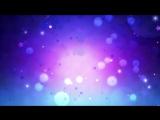 Футаж Световые блики боке звезды