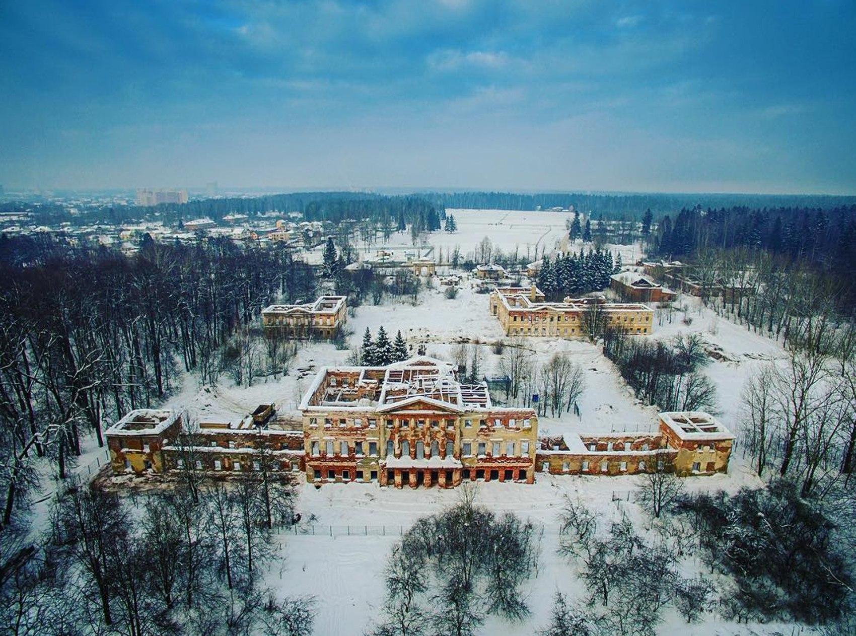 Зимнее Гребнево, анон.