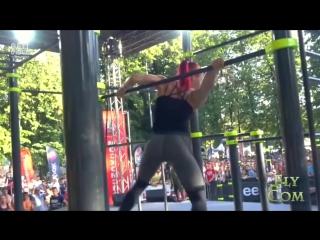 Чемпионка мира по Street workout 2015