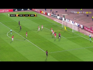 Crvena Zvezda - Arsenal 0-1, O. Giroud (85), . HD