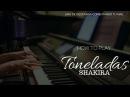 HOW TO PLAY - TONELADAS - SHAKIRA (KARAOKE - INSTRUMENTAL - MULTITRACK)