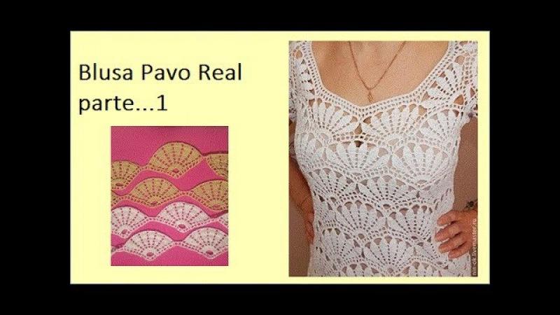 Blusa Pavo Real (parte 1)