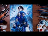 Rogue One A Star Wars Story - Colored pencil drawing  drawholic