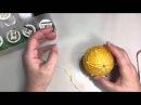 МК Темари. Вышивка на шарах. 2 часть - вышивка. лотос