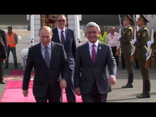 Պուտինը Երևանում է