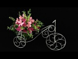 ABC TV How To Make Flower Bike From Zinc Wire - Craft Tutorial #1