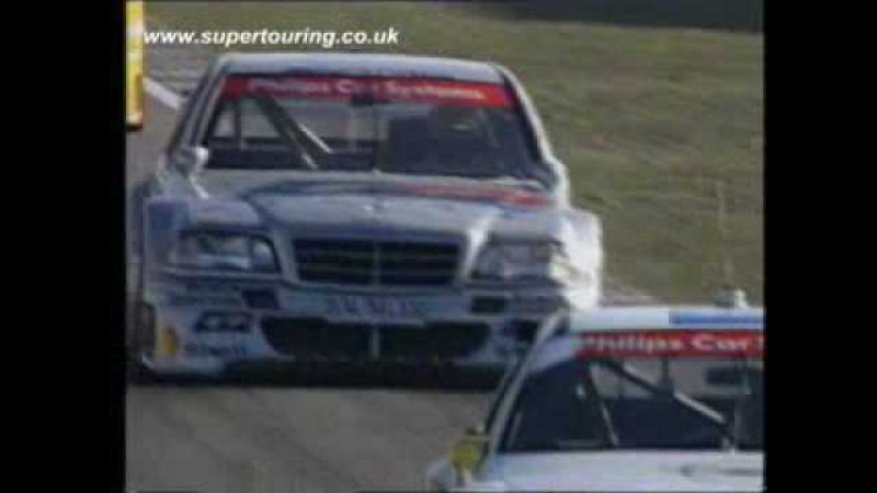 Tiff drives a DTM Mercedes C Class from 1993/4
