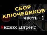 Составляю карту масок Яндекс Директ в xMind. Курс Алексея Донского.