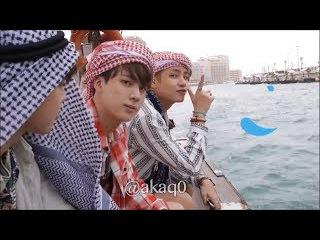 لحظات مضحكه مع فرقة BTS الجزء الأول   BTS funny moment