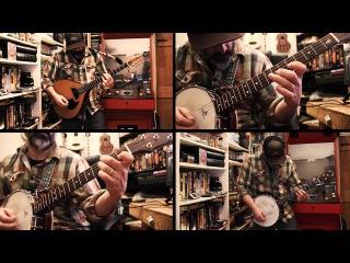 Metallica - Wherever I may Roam BANJO cover metallica bluegrass heavymetal