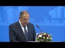 Выступление С.В.Лаврова на Всемирном форуме выпускников МГИМО