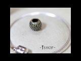 Август Зодиакальный камень хаки подвеска - шарм круглая с камнями на браслет