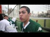 Torcida do Goiás faz linda homenagem ao goleiro Renan