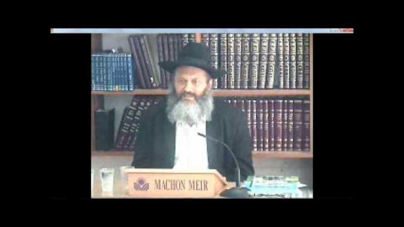рав Фаерман - некоторые идеи иудаизма