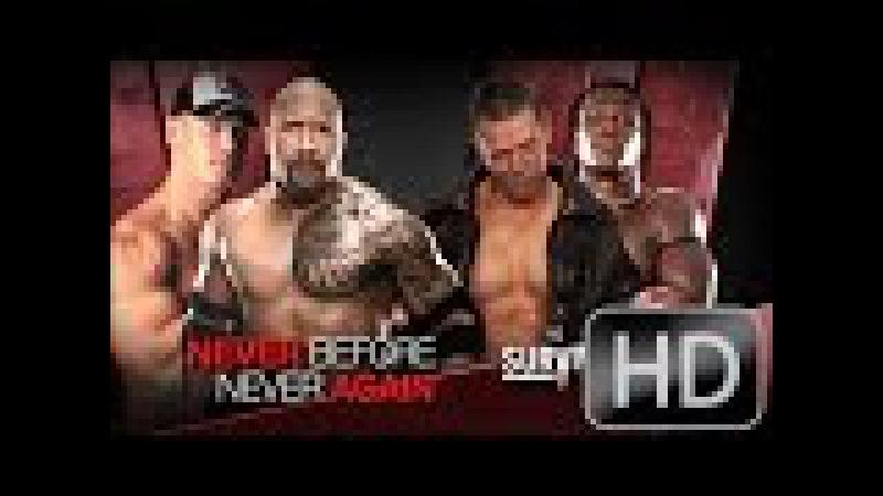 Full Fight Video WWE - Omg John cena The Rock Vs The Miz R Truth Crazy Match Original HD