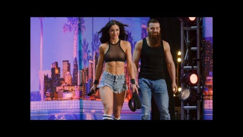 America's Got Talent 2017 Billy Emily England Bro Sis Roller Daredevils Full Audition S12E02