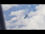 UFO Video From Airplane Window Spain ! Apr 2017