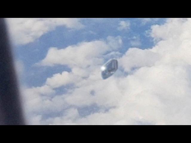 UFO in the sky - Spain (CGI)