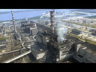 Припять.  Город до и после аварии на Чернобыльской АЭС