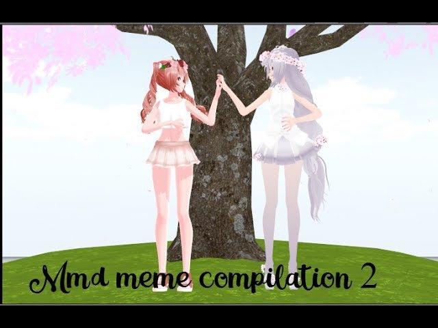 MMD compilation meme Yandere Simulator 2