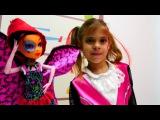 Мультик #МонстерХай Элис и Дракулаура собираются на бал-маскарад! Игры #одевалк ...