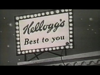 1961 - Closing Credits - Hanna Barbera's Top Cat brought to by Kellogg's - Best to you!