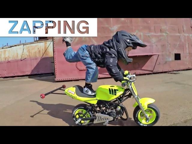 Zap Extrême : A 3 ans, cet enfant est déjà une star du stunt ! 6 Rafts empilés, Jamie O'Brien...