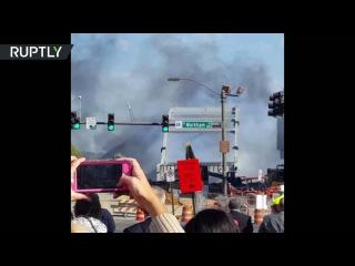 Мост в США устоял после нескольких взрывов
