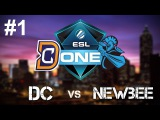Digital Chaos (DC) vs Newbee ESL One Genting 2017 Grand Final - Game 1