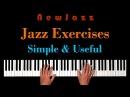 Simple PIANO EXERCISES for Advanced JAZZ IMPROVISATION