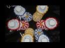 Пинетки Ромашки крючком для новорожденных Мастер класс Часть 1 Baby booties crochet DIY
