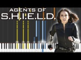 Marvel's Agents of S.H.I.E.L.D. - Skye Theme  Piano  Orchestral Tutorial