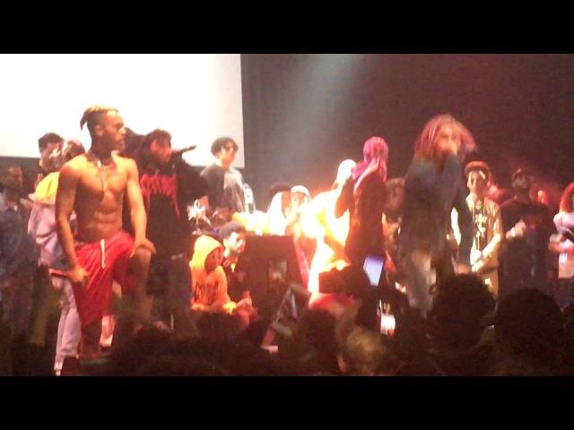 Ski Mask the Slump God feat. Lil Pump - Where's The Blow (Live in LA, 6/6/17)