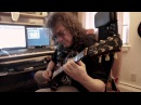 My friend Oleg Avakov plays improvisation in heavy metal style
