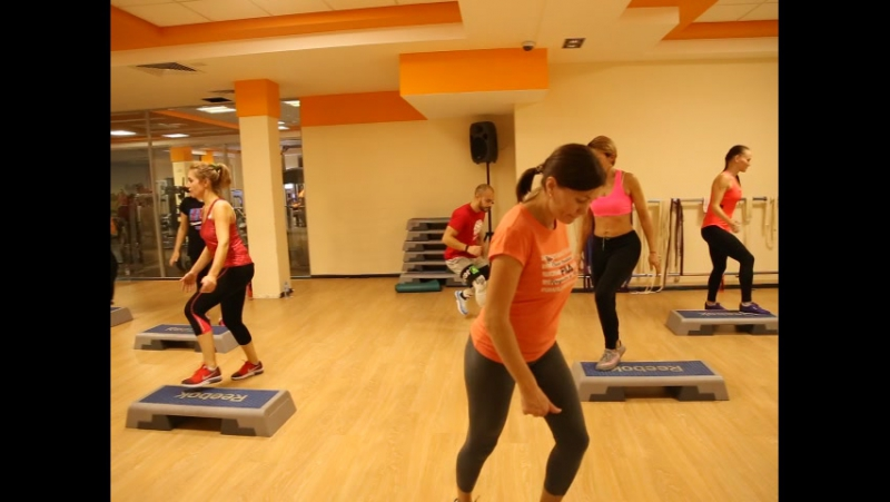 Открытие фитнес-сезона FITNESS MIX. STEP FT STRETCH