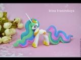 Принцесса Селестия ❤️Май Литл Пони Полимерная глина мастер класс My Little Pony