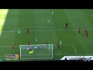 Сент-Этьен - Ренн 1:1. Обзор матча. Франция. Лига 1 2016/17. 34 тур.