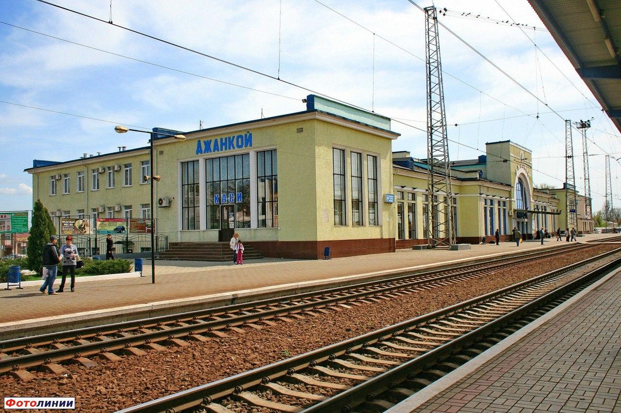 В Джанкое усилили охрану железнодорожного вокзала