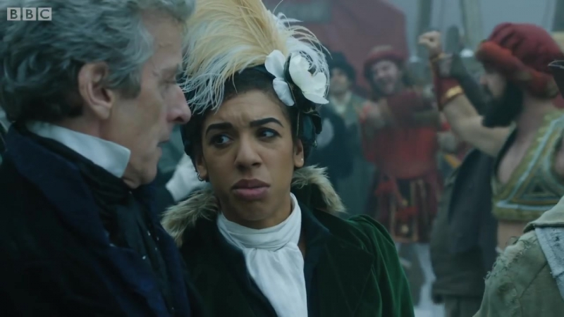 Доктор Кто 3 серии 10 сезона Тонкий лёд трейлер TARDIS time and space