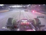 Race: Vettel, Verstappen & Raikkonen out after chaotic wet st