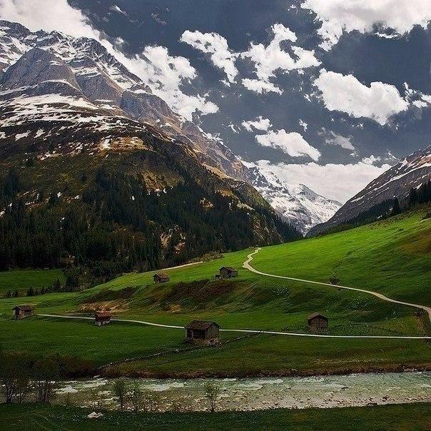 Горная долина, Швейцария