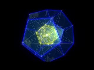 Платоновы тела / Morphing Platonic Solids (Sacred Geometry by ieoie)